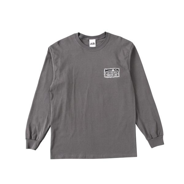 カブー メンズ レフトロングスリーブTシャツ