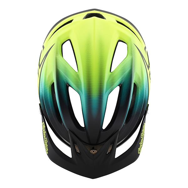 トロイリーデザインズ A2 MIPS ヘルメット ステインド ネイビー/イエロー