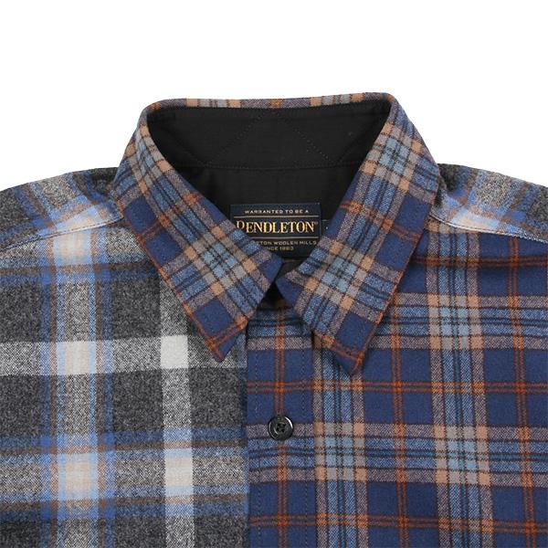 ペンドルトン メンズ ニューアーバンパイオニアシャツ ジャパンフィット RC400 ブルー 10165 Mサイズ