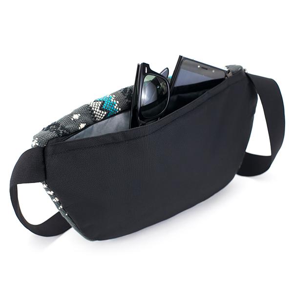 エスノテック バグースバムバッグ Mサイズ ビバコンアグアグレー