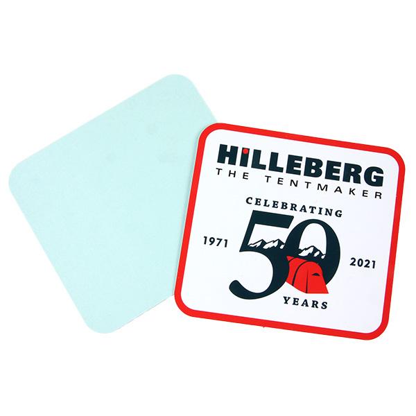 ヒルバーグ 50th パッチステッカー