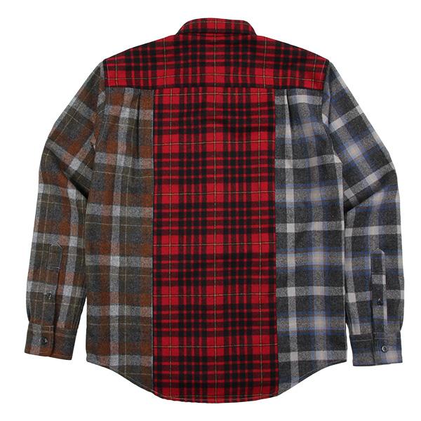 ペンドルトン メンズ ニュークレイジーシャツ ジャパンフィット RC401 レッド 10116 XLサイズ