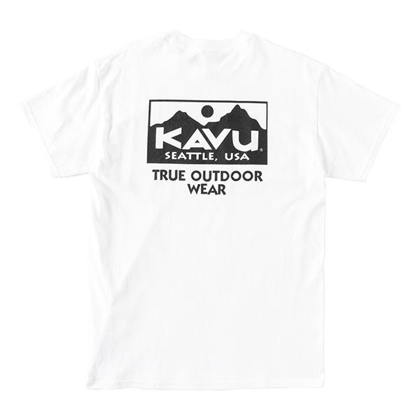 カブー メンズ トゥルーロゴTシャツ