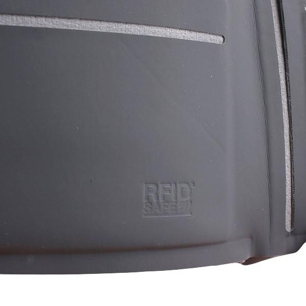 パックセーフ RFIDバイフォールドウォレット ブラック