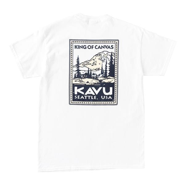 カブー メンズ スタンプTシャツ