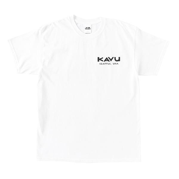 カブー メンズ レイニアTシャツ