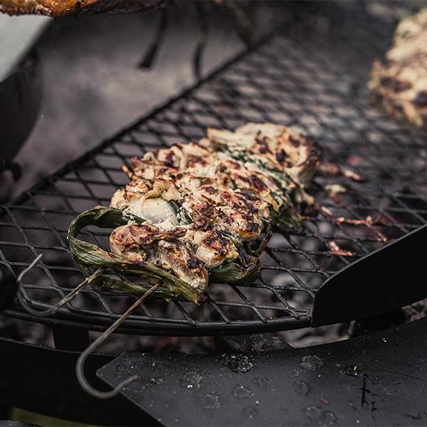 ベアボーンズ カウボーイグリル スチール 焼き串 4本セット