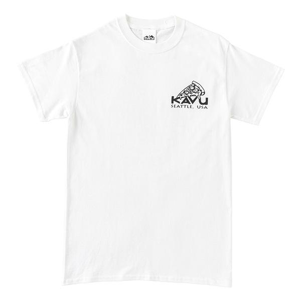 カブー メンズ ピザTシャツ