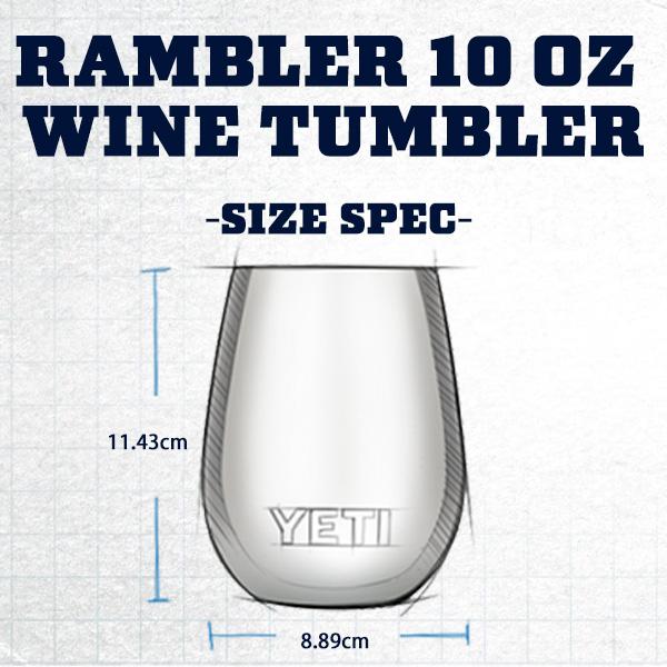 イエティ ランブラー10oz ワイン