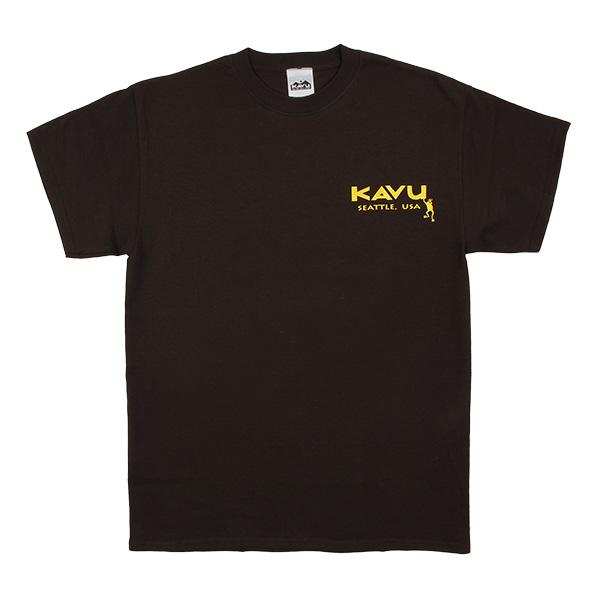 カブー メンズ フロッグTシャツ