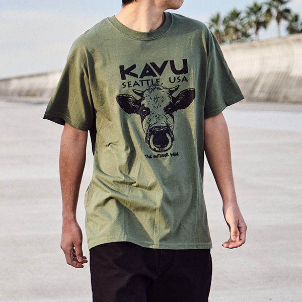 カブー メンズ カウTシャツ