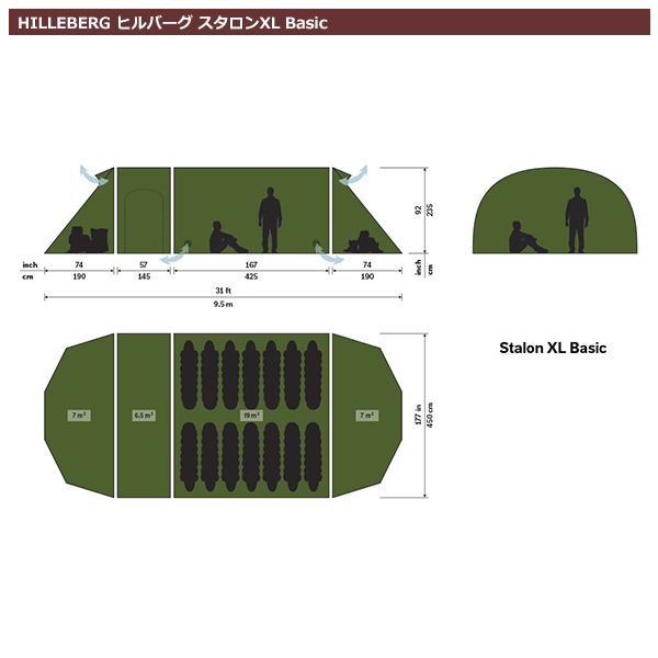 ヒルバーグ スタロンXL Basic グリーン