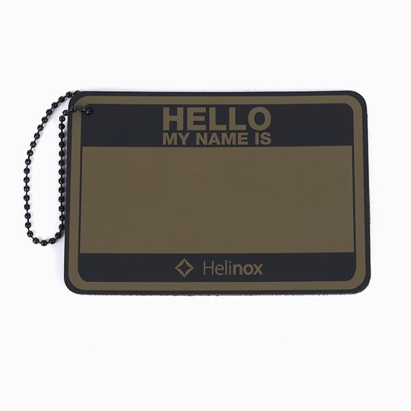 ヘリノックス Hello my name is パッチ