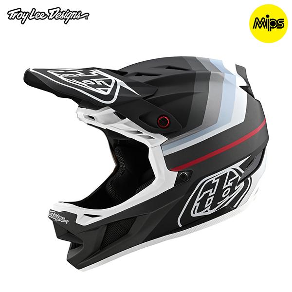 トロイリーデザインズ D4コンポジット ヘルメット ミラージュ ブラック/シルバー Sサイズ