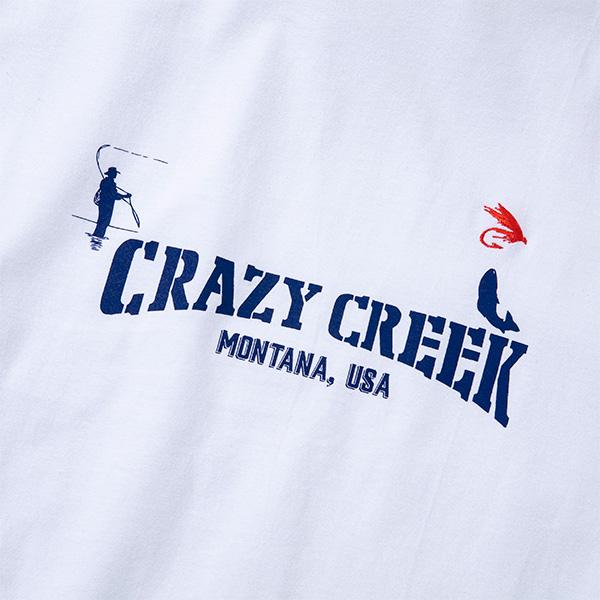 クレイジークリーク メンズ トラウトTシャツ
