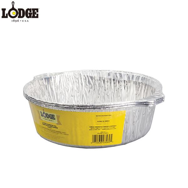ロッジ 10インチダッチオーブン用アルミホイールライナー 3パック