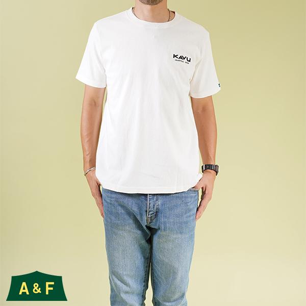 カブー メンズ USAロゴTシャツ