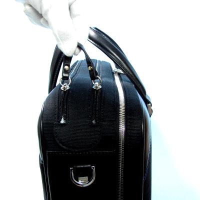 アーロン・アーヴィン(AaronIrvin)ブリーフケース Nylon Double Zip Open Brief AA-NDZO-BK