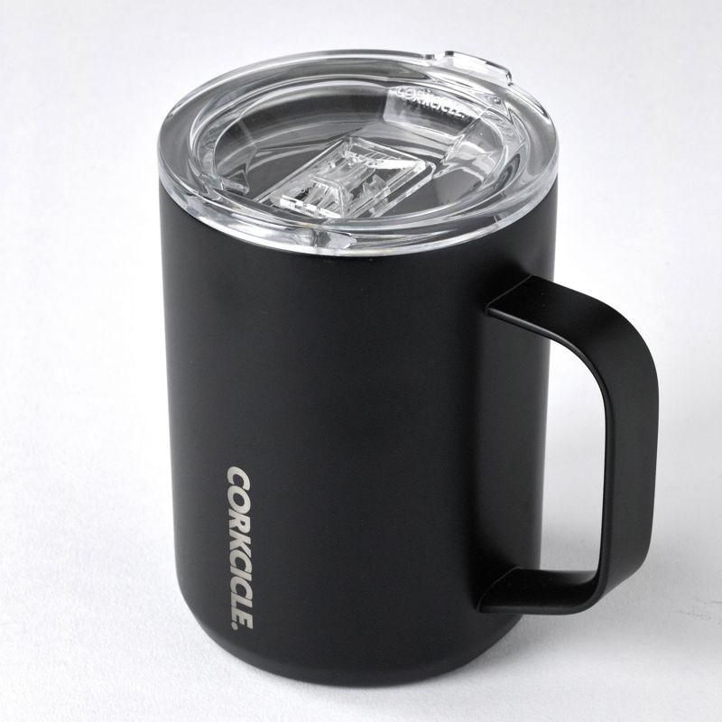 CORKCICLE コーヒーマグ マットブラック 400ml COFFEE MUG Matte Black 16oz 2516MB