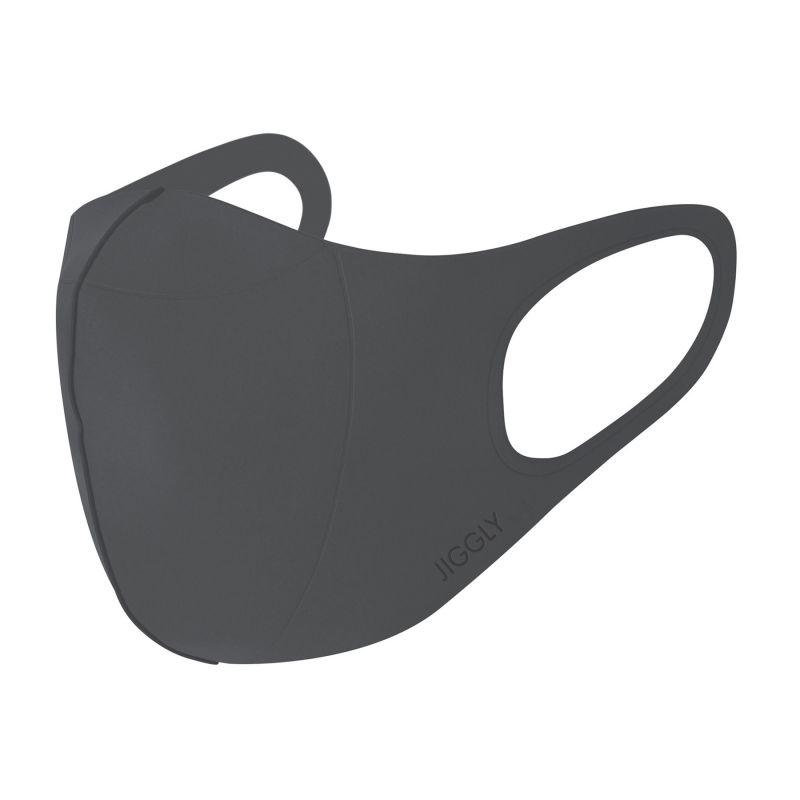 [送料無料/別発送] 【52%OFF! マスクに風特別セット】ウルトラパフマスクジグリー グレー Lサイズ & ダブルファン JGM1013LGY / BTM×SPICE OF LIFE / JIGGLY WFan
