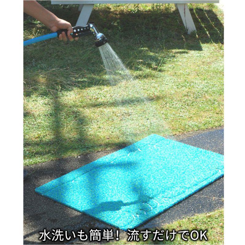 ふかふかテラスマット ブルータイル Sサイズ CWLN2971 / SPICE OF LIFE