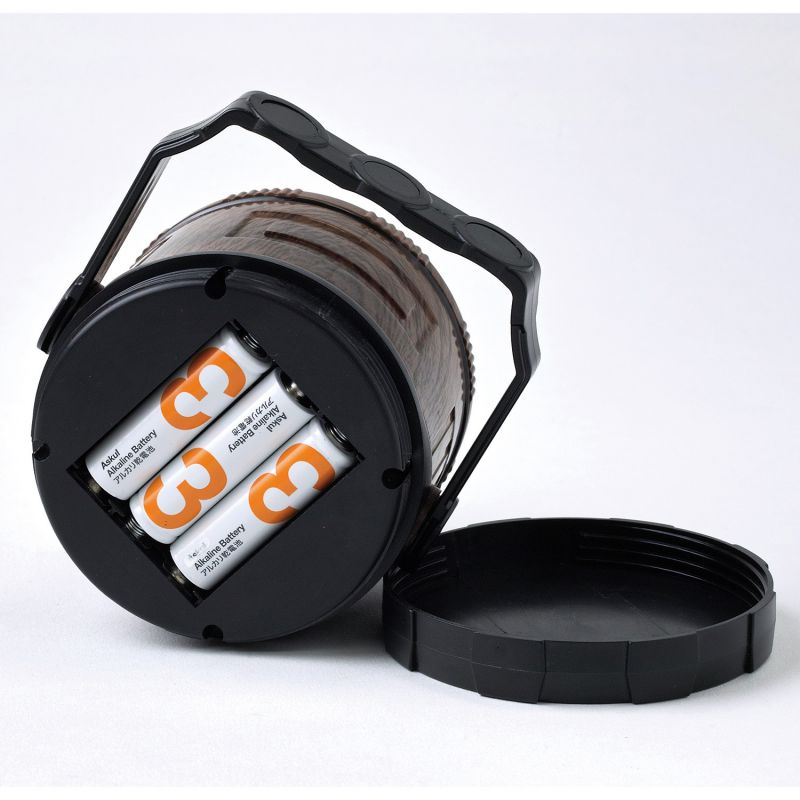 バカンス LED フレイムランタン ウッディーブラウン PEVS1090BR / SPICE OF LIFE