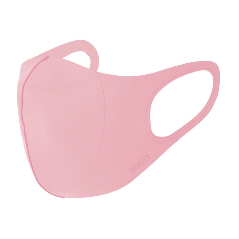 [小型宅配便385円対応] ウルトラパフマスクJIGGLY ジグリー ピンク Lサイズ JGM1013LPK / BTM×SPICE OF LIFE