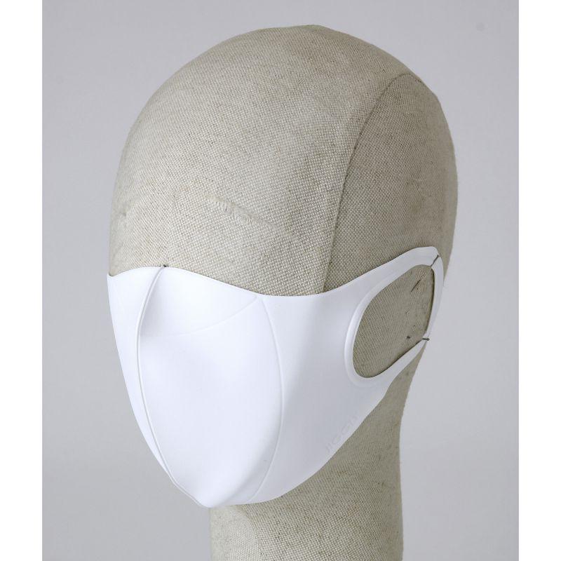 [送料無料/別発送] 【52%OFF! マスクに風特別セット】ウルトラパフマスクジグリー ホワイト Lサイズ & ダブルファン JGM1013LWH / BTM×SPICE OF LIFE / JIGGLY WFan