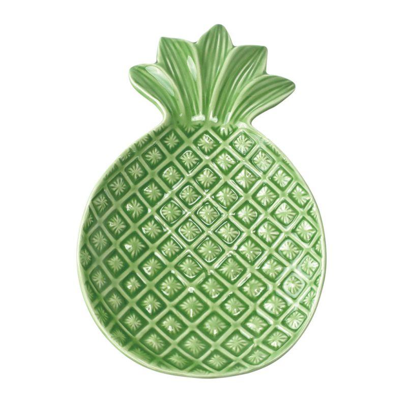 【50%OFFセール】[SPICE OF LIFE] ラウンドプレート パイナップル Symbol of Resort XDLN2030