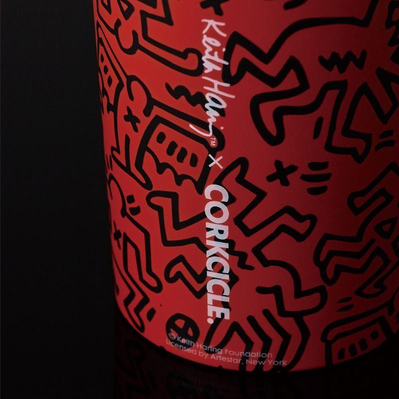 [送料無料] キースヘリング×CORKCICLE キャンティーン レッド 470ml CANTEEN Red 16oz KH2016MR-SA