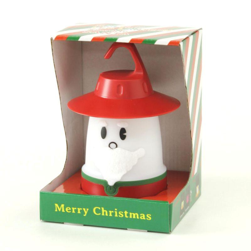 クリスマス スマイルLEDランタン スパークル サンタ PEVS1910B / SPICE OF LIFE