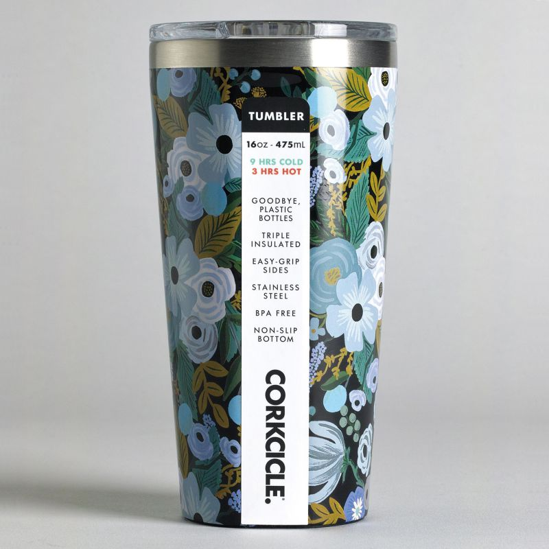 RIFLE PAPER CO.×CORKCICLE タンブラー ガーデンパーティ 470ml TUMBLER Garden Party 16oz RP2116GBGP