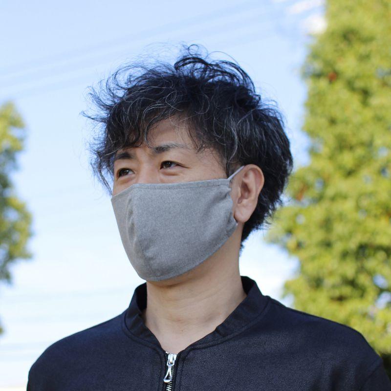 温感あったかマスク2枚セット ベージュ&グレー ふつうサイズ SFVZ2239CL / SPICE OF LIFE
