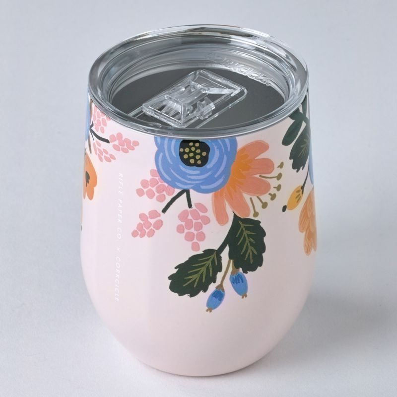 [RIFLE PAPER CO.×CORKCICLE] ステムレス ブラッシュ 300ml STEMLESS Blush 12oz RP2312GBL