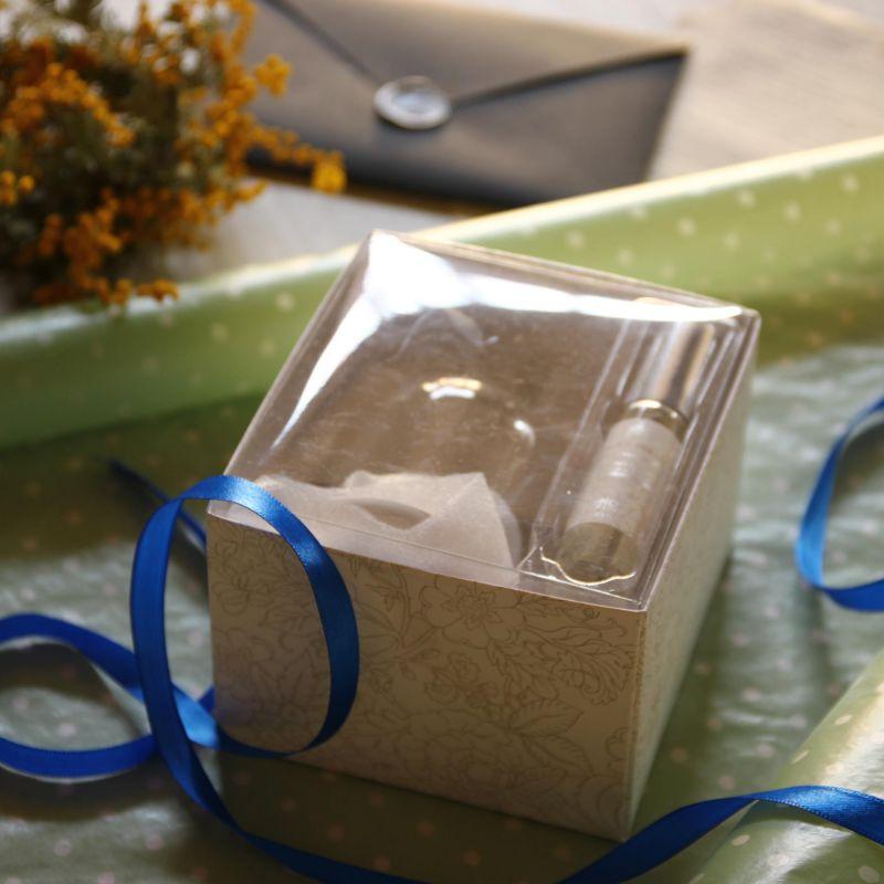 UNWIND アロマストーン&ガラスドーム フレグランスセット ブラックバニラ SZLH2010C / SPICE OF LIFE