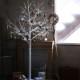 【冬雑貨20%OFFセール】[大型送料1,650円] クリスマス LEDブランチツリー ホワイト トール 高さ210cm USB専用 RJXN3114WH / SPICE OF LIFE