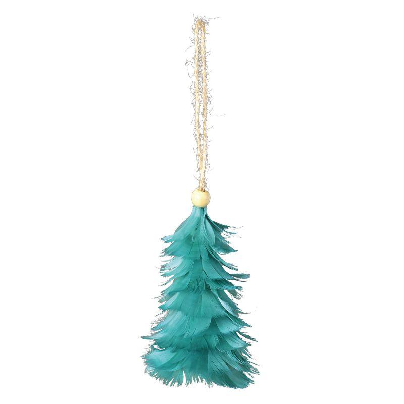クリスマス エンジェルフェザーオーナメントツリー ブルー TLXK3910BL / SPICE OF LIFE