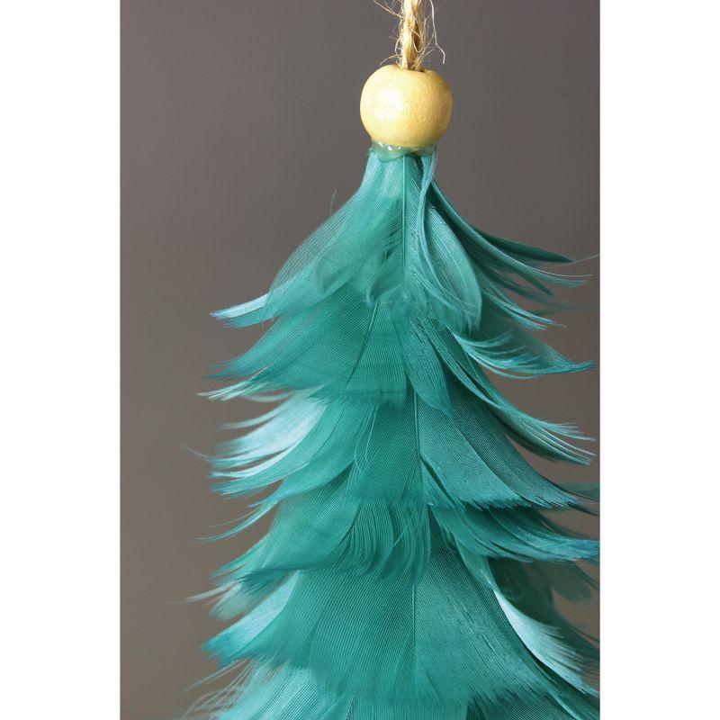 [SPICE OF LIFE] クリスマス エンジェルフェザーオーナメントツリー ブルー TLXK3910BL