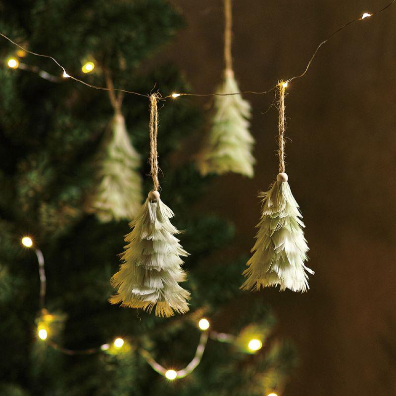 クリスマス エンジェルフェザーオーナメントツリー ミントグリーン TLXK3910MT / SPICE OF LIFE