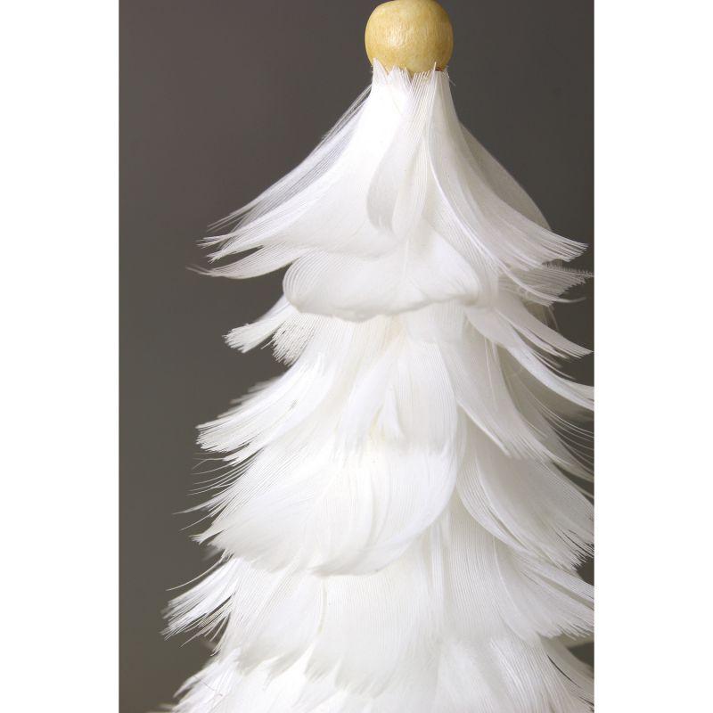 [SPICE OF LIFE] クリスマス エンジェルフェザーオーナメントツリー ホワイト TLXK3910WH