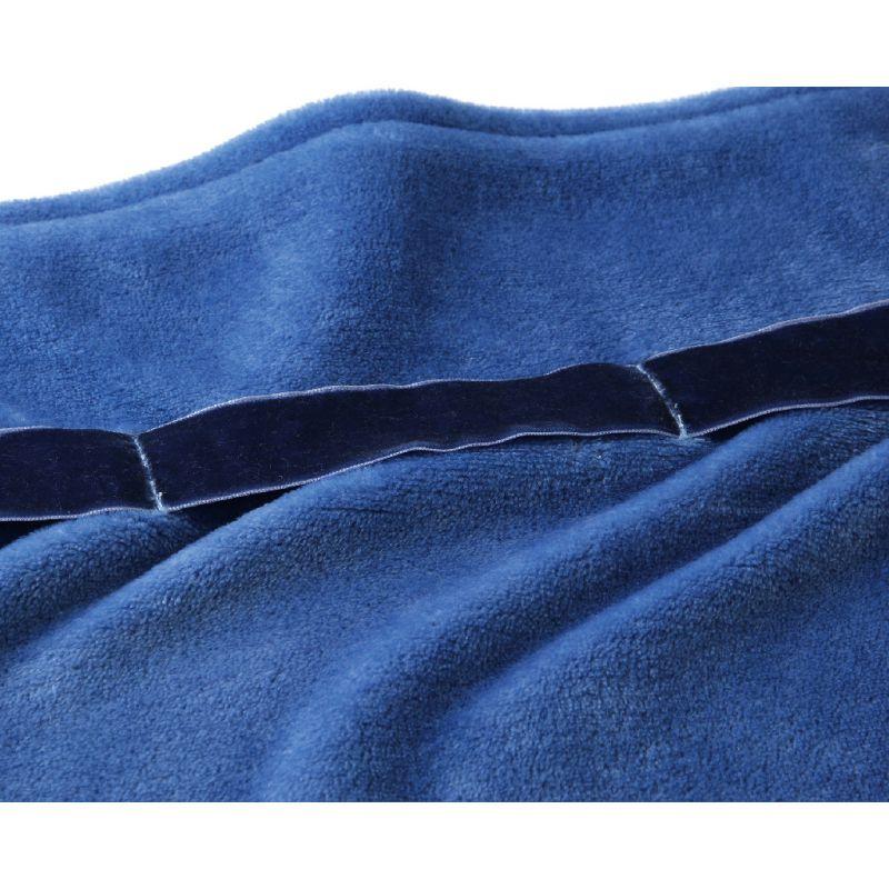 【冬雑貨20%OFFセール】巻きつけるラップブランケット ロイヤルブルー SHLZ2180BL / SPICE OF LIFE