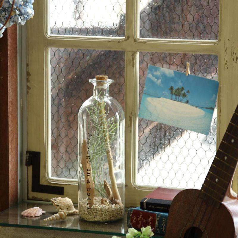 【夏セール30%OFF】メッセージボトル Lサイズ ZHGN1193TA / SPICE OF LIFE