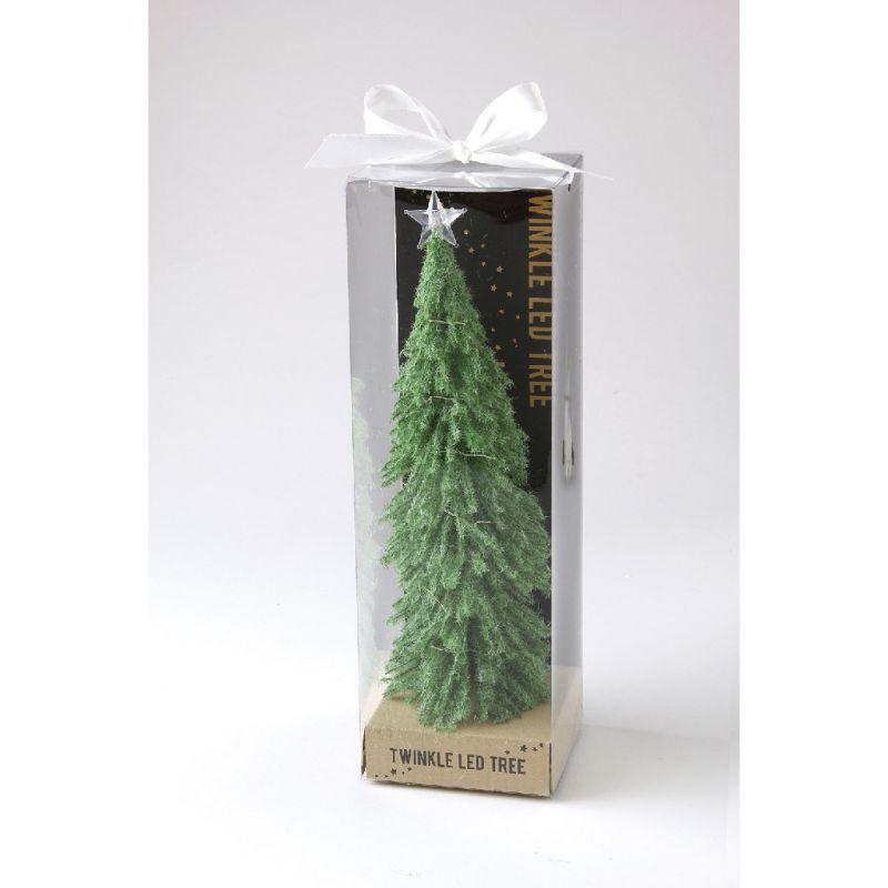 ※【在庫限り60%OFF】クリスマス LEDティンクルライトスノーツリー グリーン Lサイズ HSXH3803GR / SPICE OF LIFE