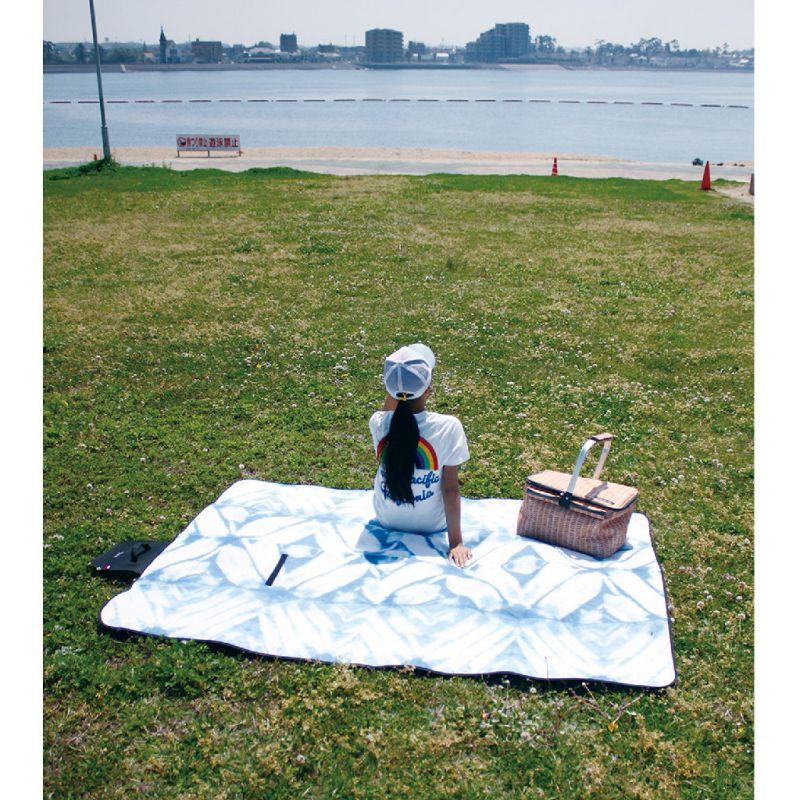 バカンス 折りたたみピクニックマット インディゴ SFVG1810A / SPICE OF LIFE