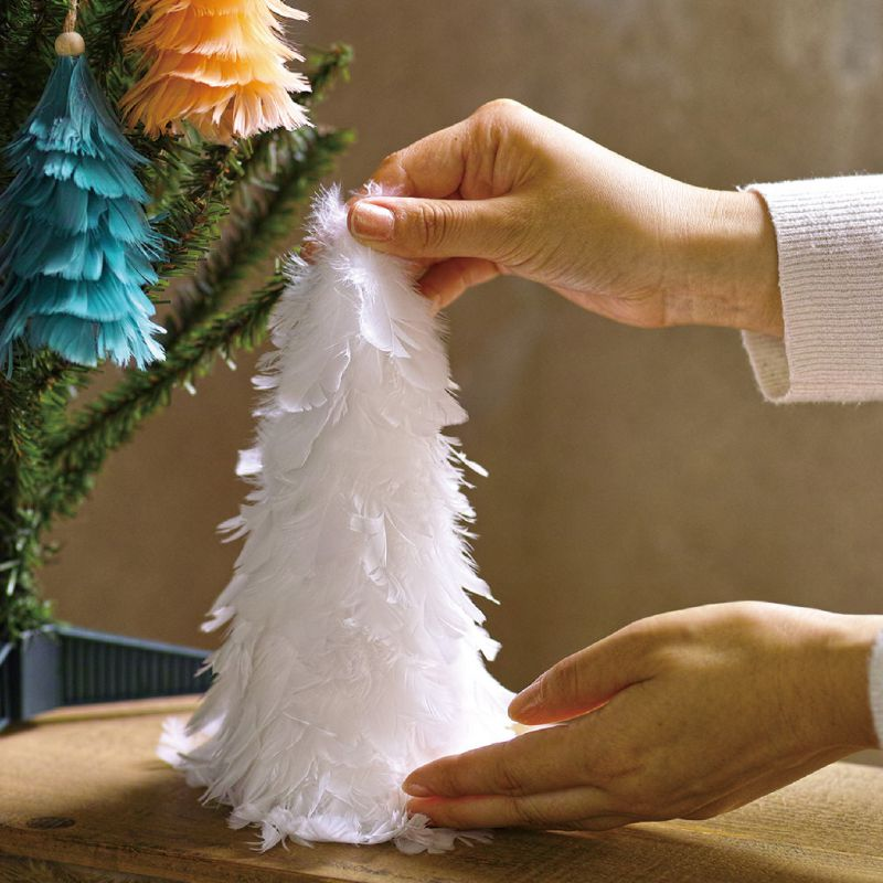 クリスマス エンジェルフェザーツリー ホワイト TLXK3920WH / SPICE OF LIFE