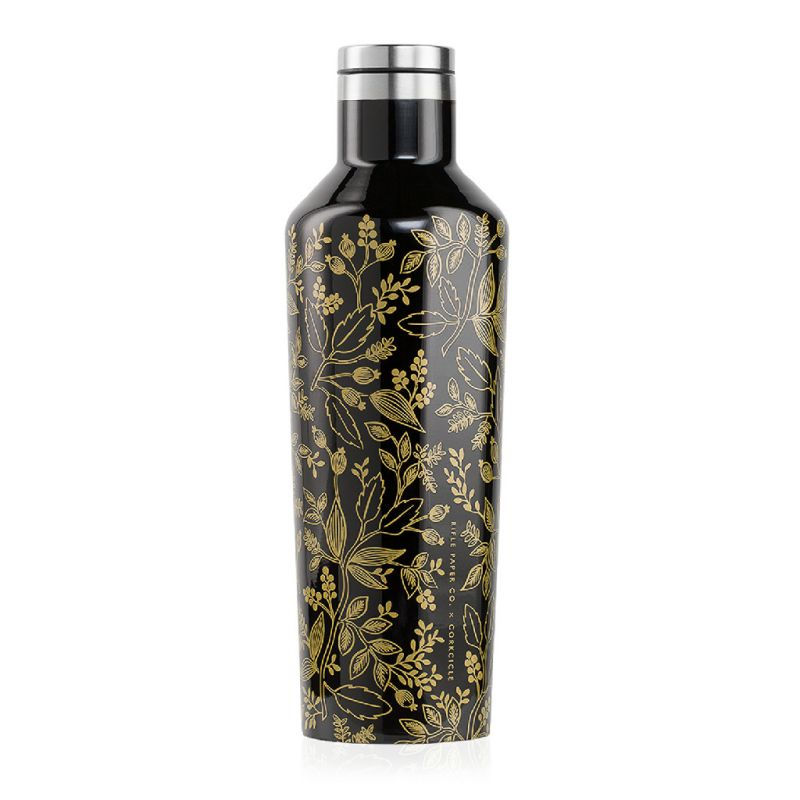 [送料無料] RIFLE PAPER CO.×CORKCICLE キャンティーン クイーンアン 470ml CANTEEN QUEEN ANNE 16oz RP2016GBQ