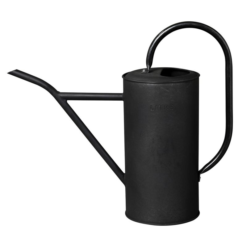 LITRE ブリキロングジョーロ 細口 ブラック 2.5L JMGH9020BK / SPICE OF LIFE