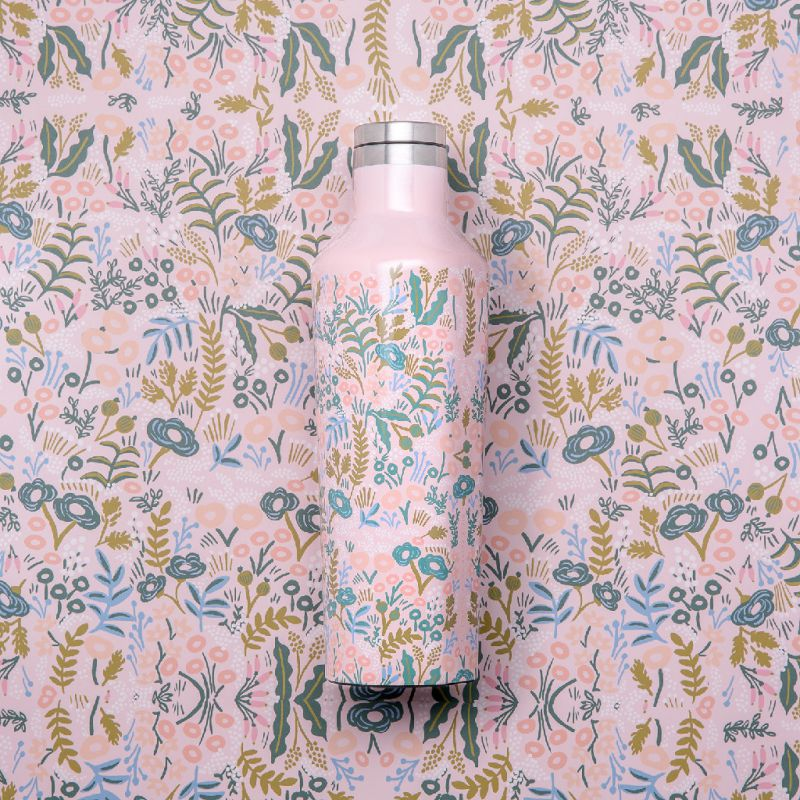 RIFLE PAPER CO.×CORKCICLE キャンティーン タペストリー 470ml CANTEEN TAPESTRY 16oz RP2016GPT