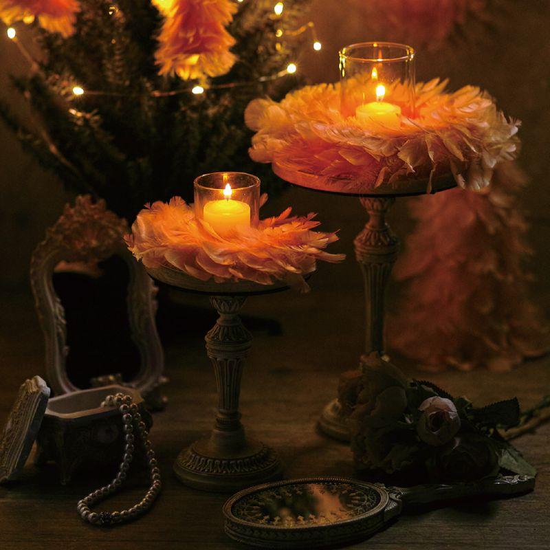 クリスマス エンジェルフェザーリース サーモンピンク Sサイズ TLXK3931PK / SPICE OF LIFE