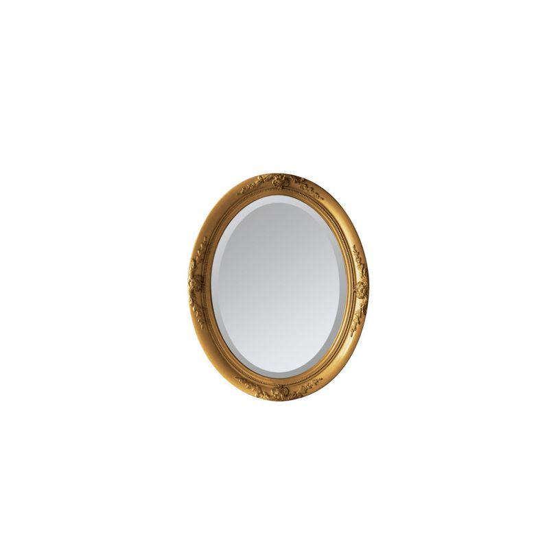 アンティークスタイルオーバルミラー ゴールド Lサイズ ANCIENT SQM803LGD / SPICE OF LIFE